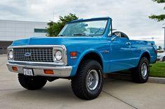 1972 Chevrolet Blazer ,Topless....WOOF~