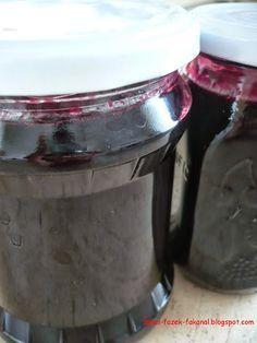 Szőlőlekvár Preserves, Jelly, Gem, Mason Jars, Cooking Recipes, Chocolate, Desserts, Food, Drink