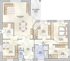 PLAN 140 - ein Winkelbungalow mit 140 m² Wohnfläche