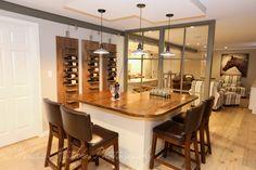 Industrial Design Basement. Glass Wall! Caroline Design. Interior Designs. | portfolio