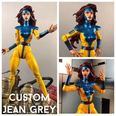 This is a custom of x-mens Jean Grey. She is 6 inches tall and goes great with the Marvel Legends Infinite Series collection. She is fully posable. Payment must be made within 3 days of the auction ending, unless agreed upon. SHIPS TO USA ONLY | eBay!