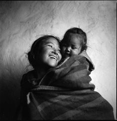 Nepal: mother and child