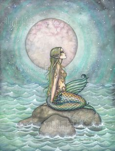 Molly Harrison The Pastel Sea mermaid art