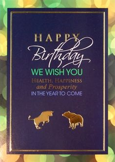 33 Best Financial Birthday Greetings Images