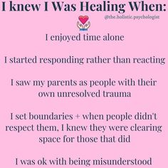 Healing Words, Healing Heart, Healing Quotes, Relationship Psychology, Emotional Awareness, Mental And Emotional Health, Practical Magic, Writing Quotes, Motivational Words