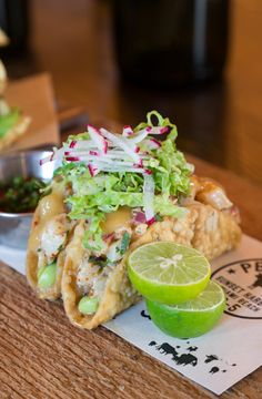 Enjoy a mouthwatering taco at PB Steak restaurant in #Miami.