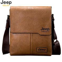 | ดราคา  เปรยบเทยบ Men Tote Bags JEEP BULUO Famous Brand...
