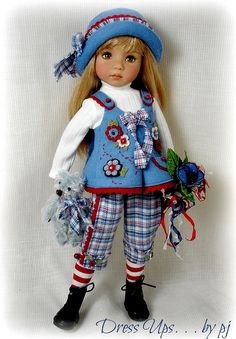 Fantasy Flowers for Effner Little Darlings | Flickr - Photo Sharing!