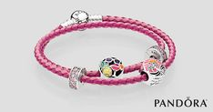 >>>Pandora Jewelry OFF! >>>Visit>> Create a vibrant look to accent any summer outfit with PANDORA Jewelry's NEW Colors of Paradise Collection. Disney Pandora Bracelet, Pandora Leather Bracelet, Pandora Bracelets, Pandora Jewelry, Charm Jewelry, Leather Bracelets, Pandora Beads, Wrap Bracelets, Charm Bracelets