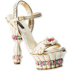 Dolce & Gabbana Platform Cake Shoes