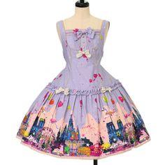 ♡ metamorphose ♡ CROWN LABEL night carnival jumper skirt http://www.wunderwelt.jp/products/detail12638.html ☆ ·.. · ° ☆ How to order ☆ ·.. · ° ☆ http://www.wunderwelt.jp/user_data/shoppingguide-eng ☆ ·.. · ☆ Japanese Vintage Lolita clothing shop Wunderwelt ☆ ·.. · ☆
