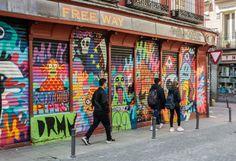 Iniciativa Street Art Madrid. Barrio de Malasaña