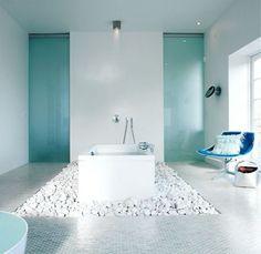 Die 9 besten Bilder von Bad blau | Washroom, Bathroom und Tiles