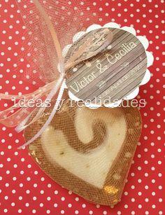 Jabones de miel con avena, detalles para regalar en una boda