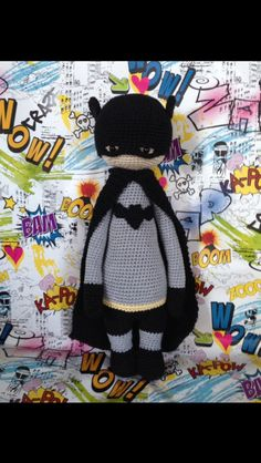 Batman Crochet made by Eleni H./crochet pattern by lalylala