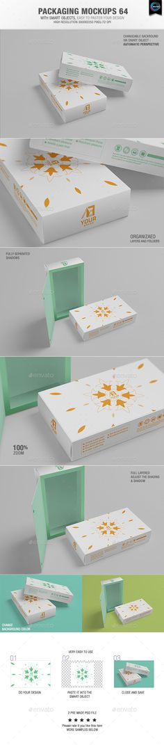Packaging Mock-ups | Download: http://graphicriver.net/item/packaging-mockups-64/10015627?ref=ksioks