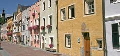 die Fußgängerzone von Bruneck / the pedestrian area of Brunico