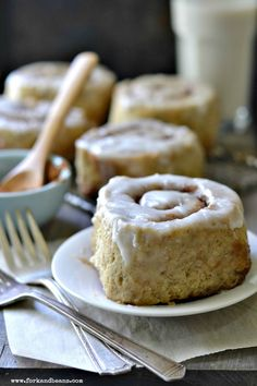 The Best Gluten-free Vegan Cinnamon Roll | Fork and Beans