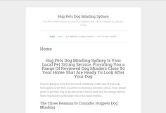 hugpets dog minding sydney Pet Sitting Services, Dog Minding, Great Websites, Pet Dogs, Pets, Dog Books, Screen Replacement, Epson, How To Get Rid