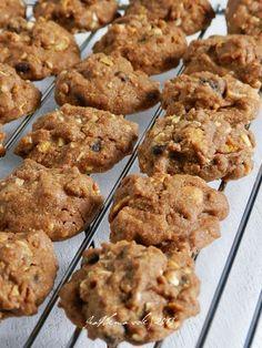 Resepi Chocolate Chip Cookies, Nutella Cookies, Chocolate Chip Recipes, Almond Cookies, Chocolate Cookies, Chocolate Chips, Butter Cookies Recipe, Yummy Cookies, Cake Cookies