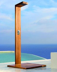 The Siena Cascade Shower – Contemporary Outdoor Shower by Manutti would be good for Jacqueline's house