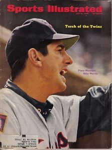 See this issue in its original layout using the July 1969 Issue Viewer Clemson Baseball, Minnesota Twins Baseball, Baseball Socks, Baseball Cards, Si Magazine, Sports Magazine, Magazine Covers, Billy Martin, Sports Ilustrated