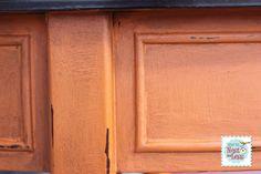 orange table detail