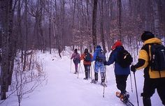 If downhill isn't your thing, Park City offers great snowshoe opportunities as well!