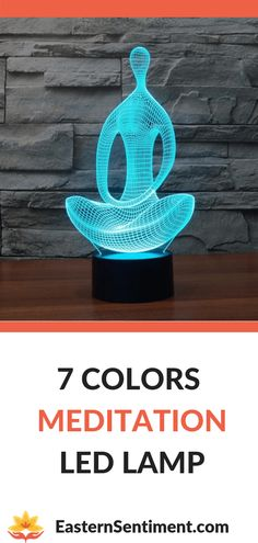Want more Meditation in your life? Then decorate your home with this unique Meditation Lamp! It switches between 7 colors, and is assured to add a spiritual touch to your room! Loving Kindness Meditation, Meditation Quotes, Guided Meditation, Mindfulness Practice, Mindfulness Quotes, Buddhist Meditation Techniques, Chakra Healing Stones, Buddha Jewelry, Mindful Living