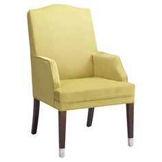 Camino Arm Chair from Sunpan Modern Home. The chair is ok, but I love those capped front legs!