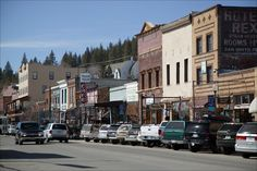Truckee, California - lovely town with excellent Main Street near Lake Tahoe, California