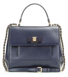 Collezione borse Salvatore Ferragamo Primavera Estate 2016 - Handbag blu