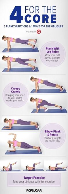 """4 For The Core""#Health&Fitness#Trusper#Tip"