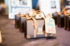 Travel Theme Suitcase Favours by Luggage2go on Etsy