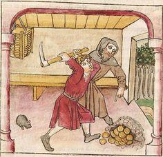 Antonius <von Pforr> Buch der Beispiele der alten Weisen — Oberschwaben, um 1475 Cod. Pal. germ. 466 Folio 133v