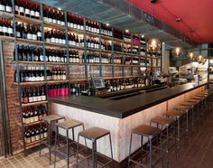 Terroir Wine Bar. Wine and food top notch. There are now 3 in the city.