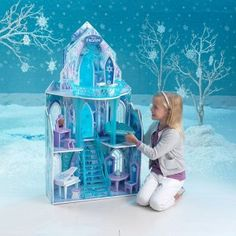 Disney's Frozen Ice Castle Dollhouse only $66.59 shipped (Reg. $150)