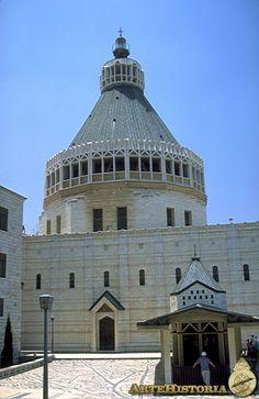 Basilica of the Annunciation Nazareth, Israel.
