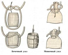 Barrel & sack knots