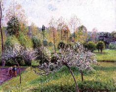 Camille Pissarro, Apple trees in bloom