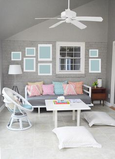 Young House Love | How To Paint A Brick Wall And Unify A Choppy Room | http://www.younghouselove.com