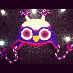 Hoot Owl Crochet Hat!