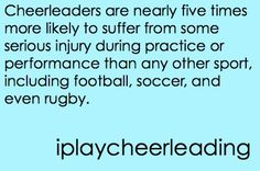 #cheer #cheerleading #fact