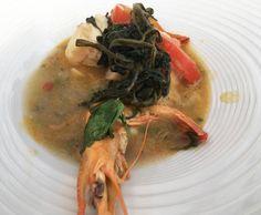 Moqueca Paraense do chef Thiago Castanho   Peixes e frutos do mar   Mais Você - Receitas Gshow
