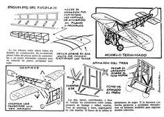 Planitos de Lupin. Bleriot XI parte 2