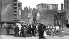 San Francisco Earthquake - View of Market Street - 1906