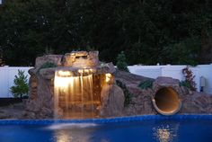 Dolphin Waterslides - Pool Slides - Photos, Videos, Product Information | Pool & Spa Outdoor