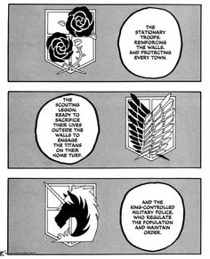 Shingeki no Kyojin, Attack on Titan, stationary troops, scouting legion, military police