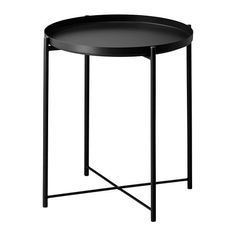 GLADOM Tray table IKEA The surface is durable and easy to clean, since it's made from powder-coated steel.