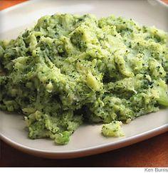 Broccoli and Cheese Mash potatoes
